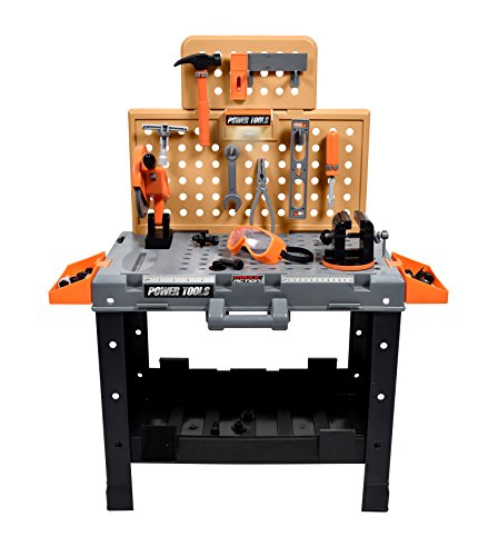 (Sunny Days Entertainment Maxx Action 55-Piece Deluxe Power Tool Toy Workshop)
