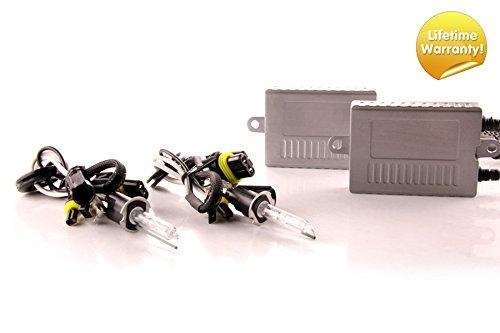 DDM Tuning Plus 35W Premium HID kit, Slim AC Ballasts w/Hi-Output Bulbs, H3, 3000K ()