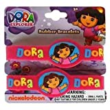 2pk Dora The Explorer Rubber Bracelets