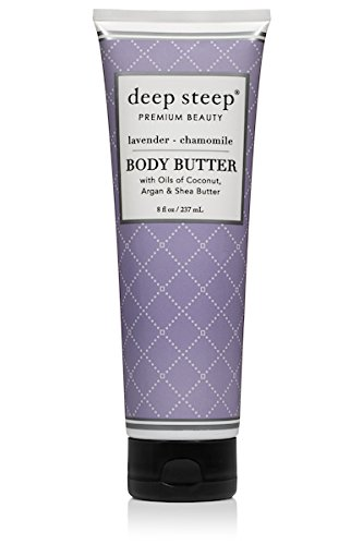 - Deep Steep Body Butter (Lavender Chamomile, 8 Ounce)