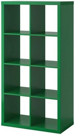 IKEA Kallax – Estantería, color verde: Amazon.es: Hogar