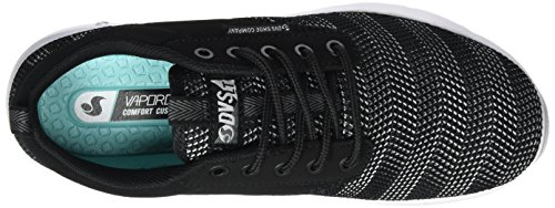 Shoes Multicoloured Herringbone Women's DVS Premier Black 002 Trainers WOS Black White 1dTwU4
