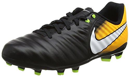 Nike Kid's Jr. Tiempo Ligera IV FG Soccer Cleat (5 M US Big Kid)