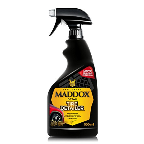 Maddox DetailTire DetailerLustrant pour pneus, plastiques, gommes extérieures 500 ml 70%OFF