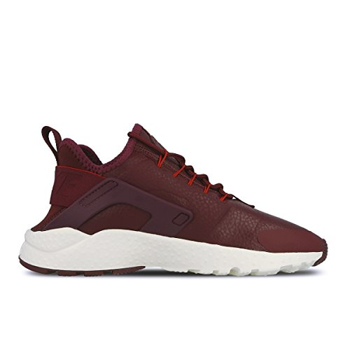 Nike Mujeres Huarache Run Ultra Prm Zapatillas Running Night Maroon Sail 600