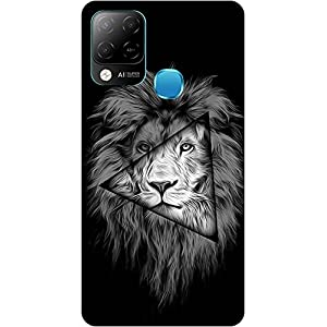 Amagav Soft Silicone Printed Mobile Back Cover for Infinix Hot 10S -Design41