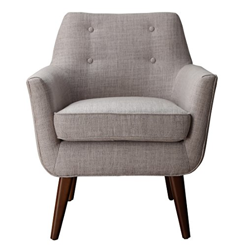 Furniture Clyde Mid Century Modern Linen