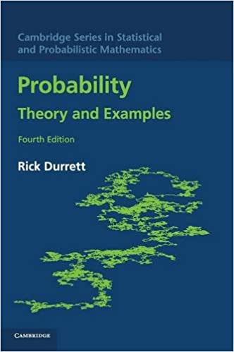 Amazon probability theory and examples cambridge series in probability theory and examples cambridge series in statistical and probabilistic mathematics 4th edition fandeluxe Choice Image