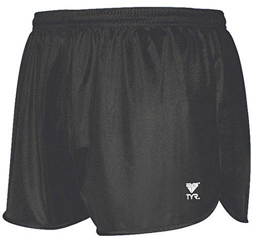 TYR Sport Men's Swim Short/Resistance Short Swim Suit,Black,M
