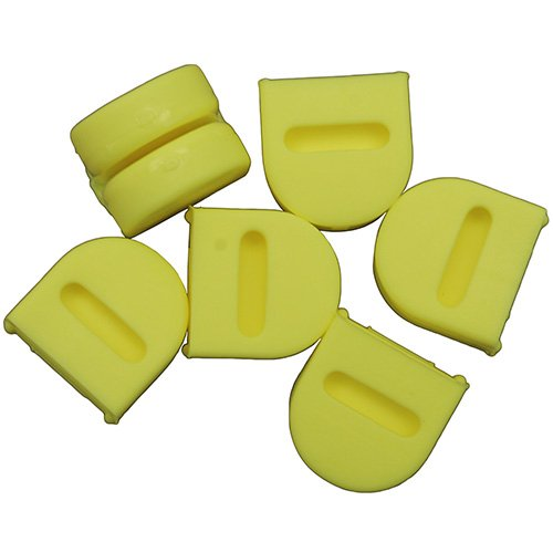 Scotty #1190 Power Grip Plus Release Clip Replacement Pads (3-Pair Pack)