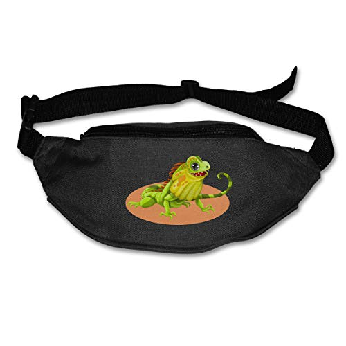 Waist Bag Fanny Pack Reptile Pouch Running Belt Travel Pocket Outdoor Sports