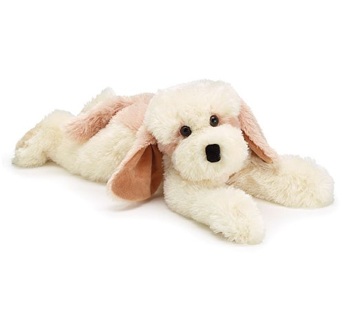 Tie Back Burton (Adorable and Cozy Plush Lying Puppy Dog)