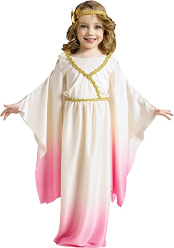[Morris Costumes Athena Pink Ombre Toddler 3-4T] (Athena Pink Girls Costume)