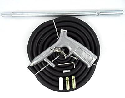 Air Sand Blaster Kit w/ Air Nozzles Sandblasting Gun Hose 8pc Sandblaster Kit