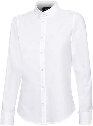 Velilla - Camisa Oxford Stretch Manga Larga 405005S Mujer ...