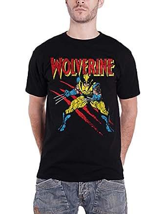Amazon.com: Marvel Wolverine T Shirt Wolverine Scratches