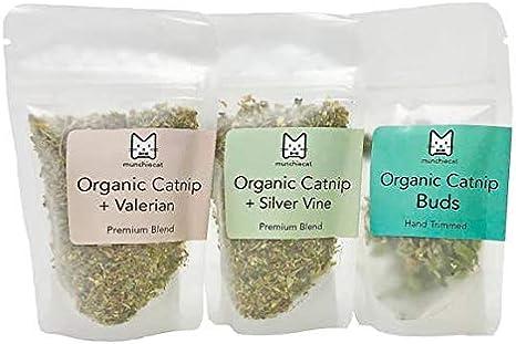 Amazon Com Munchiecat Organic Catnip Variety Pack Gift Set Usa
