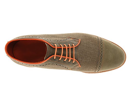 Shoeslulu 20-59 Premium Lacci Tondi In Tela Cerata Con Laccetti Arancione
