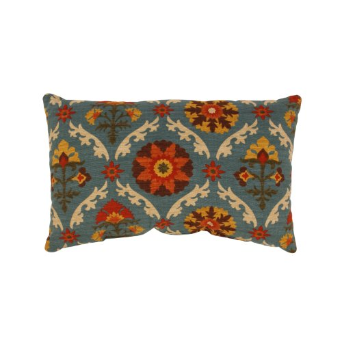 Pillow Perfect Mayan Medallion Rectangular Throw Pillow, Ado
