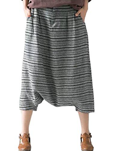 Voguees - Pantalón - para mujer Pinstripes