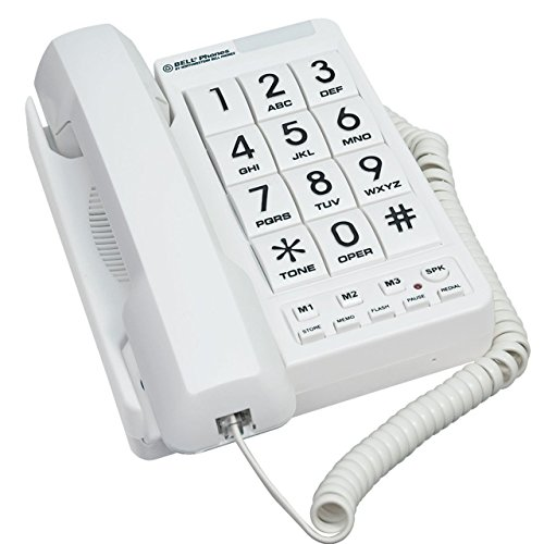 Northwestern Bell MB2060-1 Big Button Phone White ()