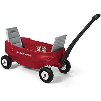 Radio Flyer All-Terrain Pathfinder Wagon Ride On, Red