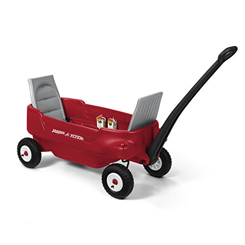 Radio Flyer All-Terrain Pathfinder Wagon, Red ()