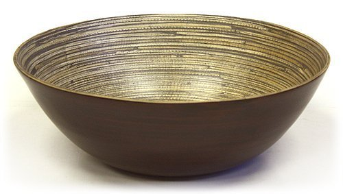 Simply Bamboo BBE16 Bowl, L x 16