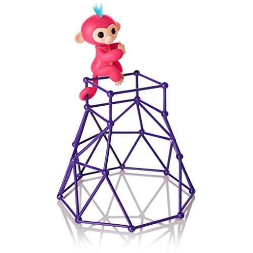 Price comparison product image Hot Sale! Fingerlings Monkey Playset,Sunfei Jungle Gym Playset Interactive Baby Monkey Climbing Stand