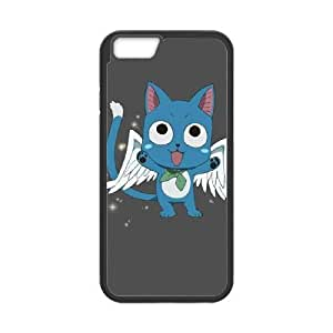 iphone6s plus 5.5 inch case , Fairy Tail Happy iphone6s plus 5.5 inch Cell phone case Black-YYTFG-21766