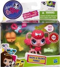 Littlest Pet Shop Tricks Talents Figure Poodle