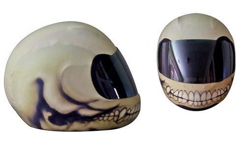 Custom Painted Helmets - 1