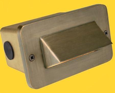 Corona Lighting CL-364B-AB Step Light in Antique Bronze w Lamp 5-1 8 x 3-1 8 x 2-1 8 x 4