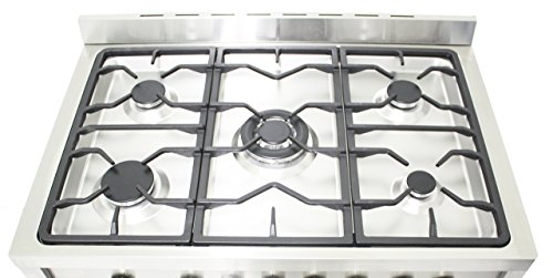 "Cosmo 36"" Freestanding/Slide-In Gas Range (Cos-965Ag)"