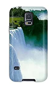 High Quality Mary Greathouse Amazing Waterfall Skin Case Cover Specially Designed For Galaxy - S5
