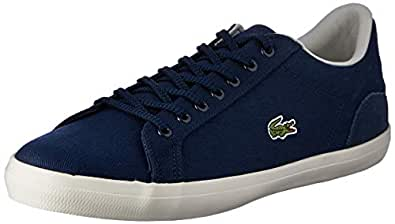 Lacoste Lerond 219 1 Men's Fashion Shoes, NVY/Off WHT, 8 US