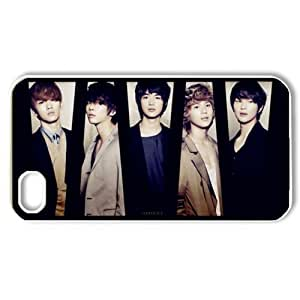 ByHeart shinee Hard Back Case Shell Cover Skin for Apple iPhone 4 and 4S - 1 Pack - Retail Packaging - 7181