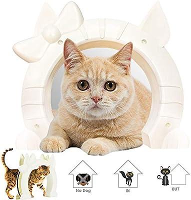 Amazon.com: Puerta de gato Slowton, puerta de mascota para ...