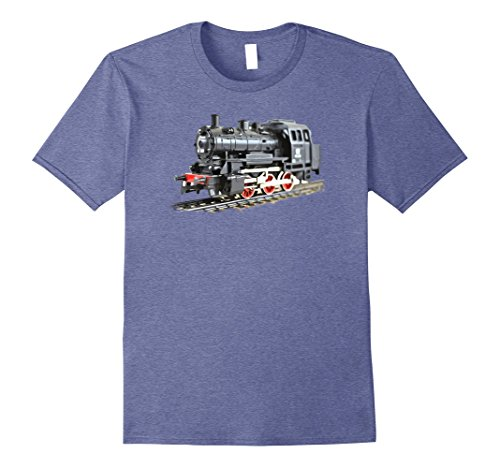 Mens Steam Train Engine Retro Vintage Model Train t-shirt...