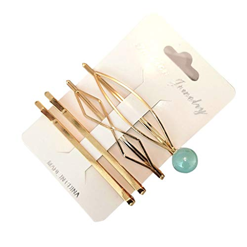 Toaimy 4pcs Sweet Pearl Hair Clips Set for Women Girls,Romantic Multi-Style Hairpin Jewelry Headwear Accessories ()