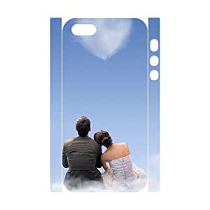YCHZH Phone case Of Loving couple back Cover Case For iPhone 5,5S