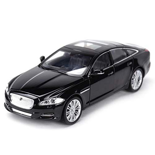 XINGPING-TOY 1:24 Jaguar XJ XF F-Type Coupe Super Running Finished Simulation Alloy Car Model (Color : XjBlack)