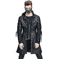 Steampunk escudo Gótico Vestido Victoriano cyberpunk Punk chamarra Renaissance Costume