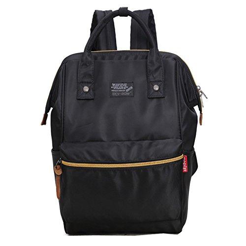 Backpack Handbag Baby Bag Changing Bigforest Diaper Tote functional Bag Multi Nappy Travel Black Mummy qwS6F