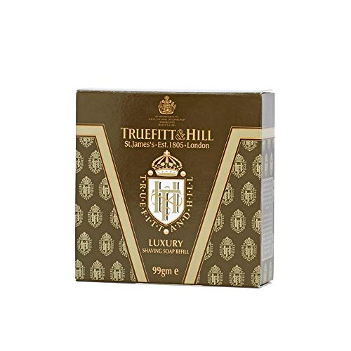 Truefitt & Hill Luxury Shaving Soap Refill for Wooden Bowl ()