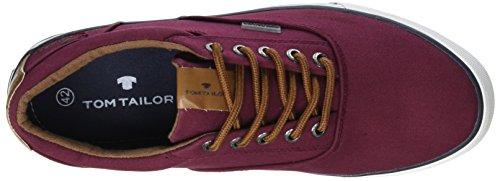 Tom Tailor 2780801 - Botas Hombre Rouge (Bordo)