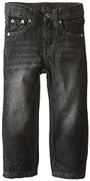 Lee Baby Boys\' Lee Slim Straight Jean, Black Blast, 12 Months