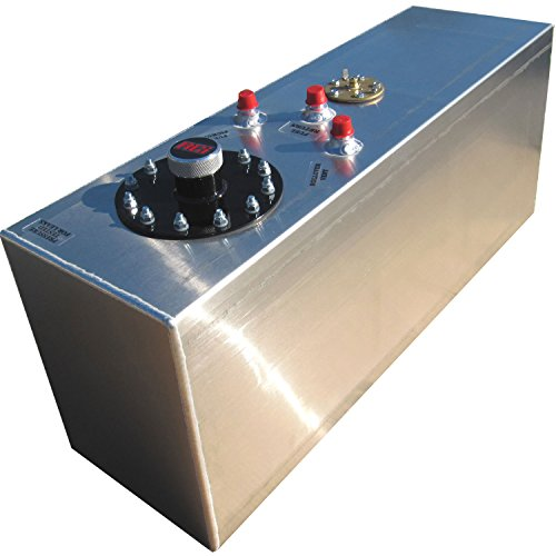 RCi 2161A Aluminum Fuel Cell, Natural Aluminum Color, 15 Gallon, 30L x 9W x 12H