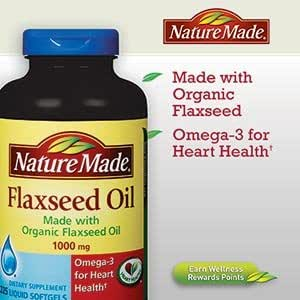 Nature Made Organic Flaxseed Oil Review