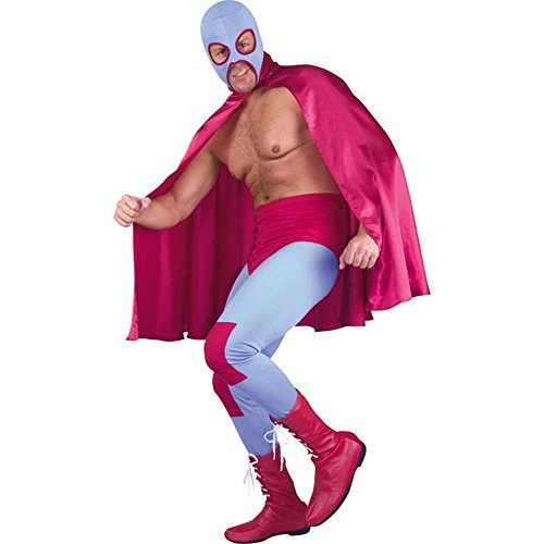 Adult Mexican Wrestler Costume (Mexican Fancy Dress Costume)